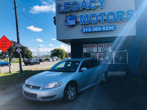 2013 Chevrolet Impala for sale at Legacy Motors in Detroit MI