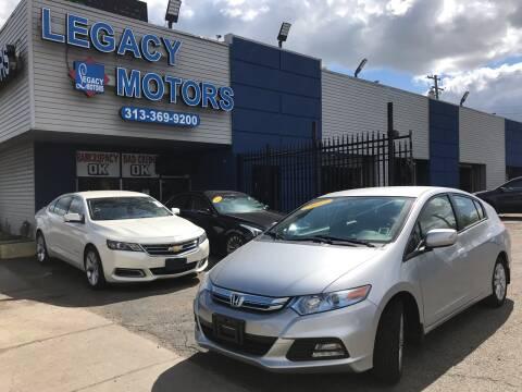 2012 Honda Insight for sale at Legacy Motors in Detroit MI