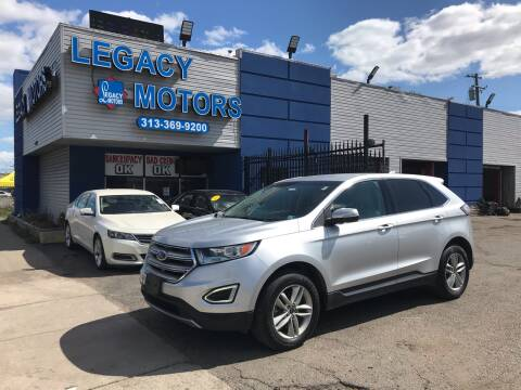 2015 Ford Edge for sale at Legacy Motors in Detroit MI