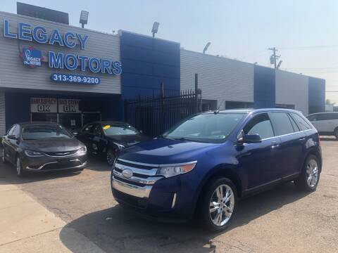 2013 Ford Edge for sale at Legacy Motors in Detroit MI