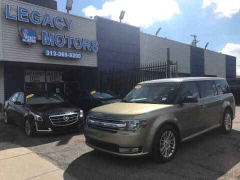 2013 Ford Flex for sale at Legacy Motors in Detroit MI