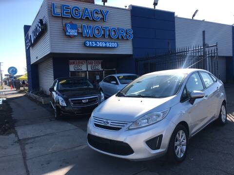 2013 Ford Fiesta for sale at Legacy Motors in Detroit MI