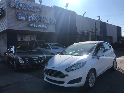 2016 Ford Fiesta for sale at Legacy Motors in Detroit MI
