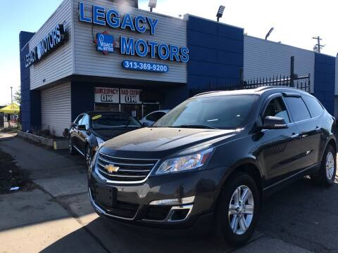 2014 Chevrolet Traverse for sale at Legacy Motors in Detroit MI