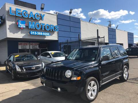 2013 Jeep Patriot for sale at Legacy Motors in Detroit MI