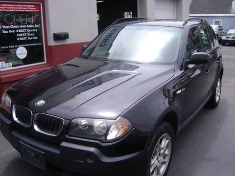 2004 BMW X3 for sale in New Bedford, MA