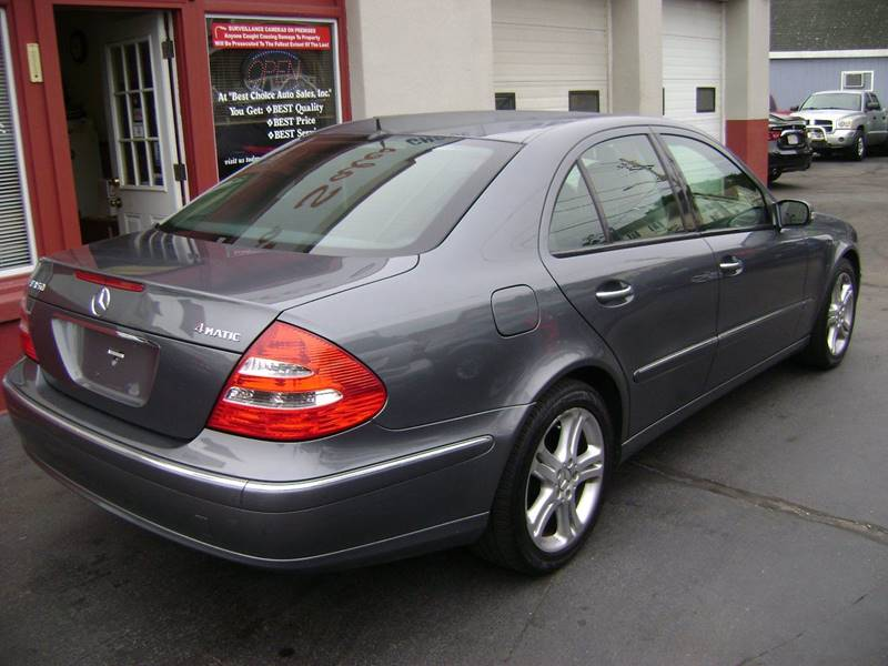 2006 Mercedes-Benz E-Class AWD E 350 4MATIC 4dr Sedan - New Bedford MA