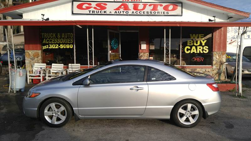 2006 Honda Civic EX 2dr Coupe W/Automatic   Crystal River FL