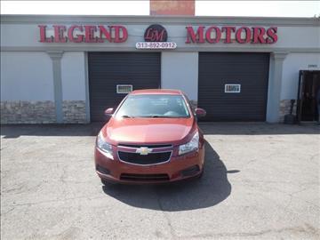 2012 Chevrolet Cruze for sale in Detroit, MI