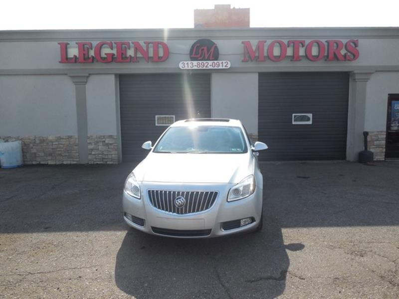 2011 Buick Regal car for sale in Detroit