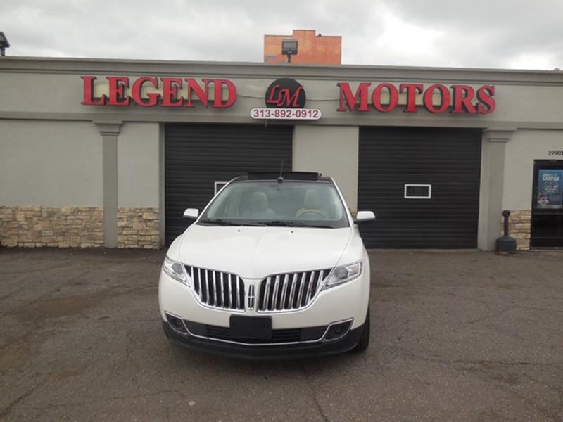 2011 Lincoln Mkx car for sale in Detroit