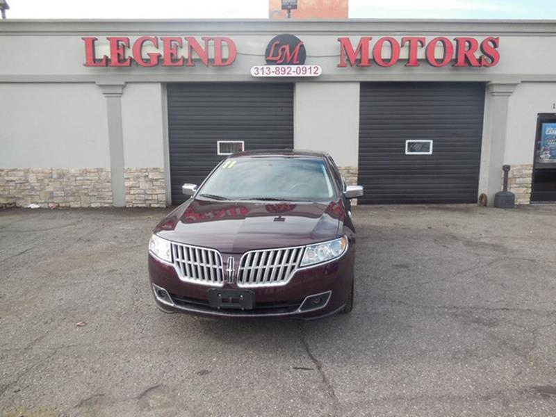 2011 Lincoln Mkz car for sale in Detroit