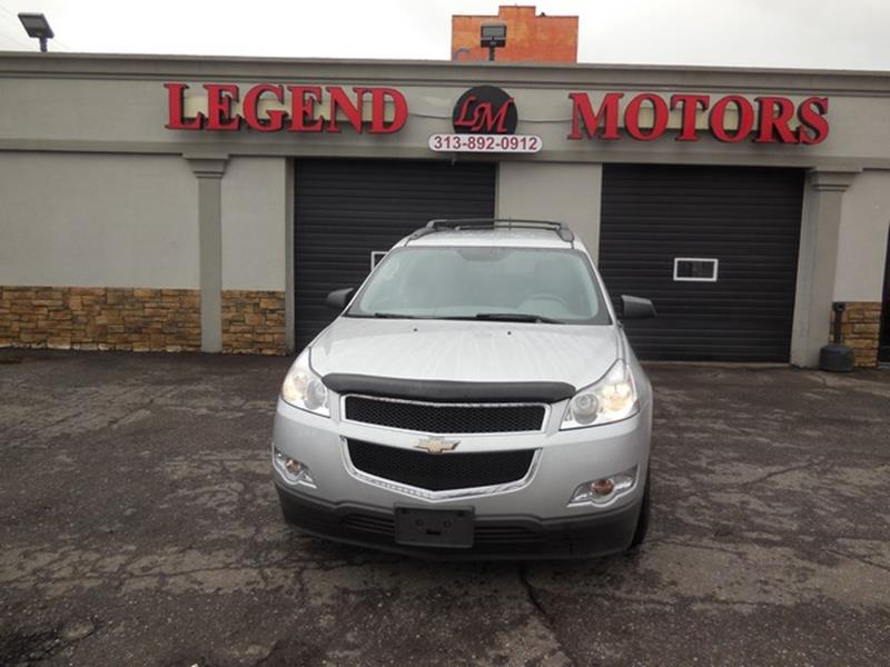 2012 Chevrolet Traverse car for sale in Detroit