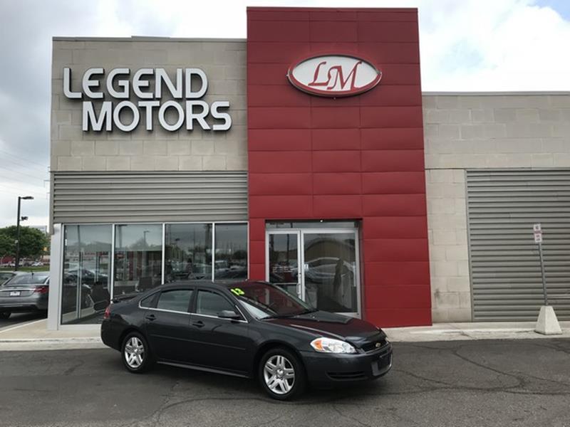 2013 Chevrolet Impala car for sale in Detroit