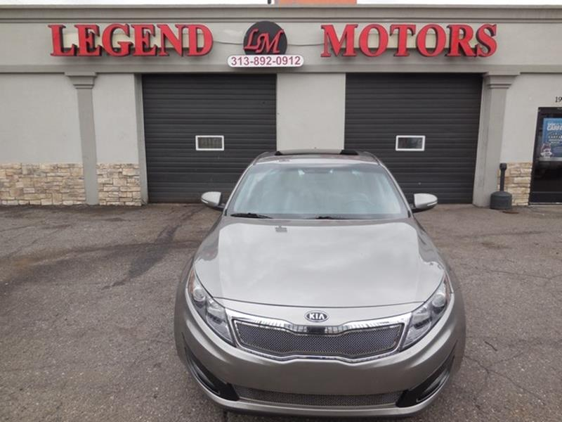 2012 Kia Optima car for sale in Detroit