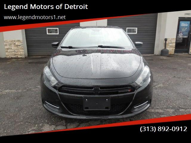 2015 Dodge Dart car for sale in Detroit