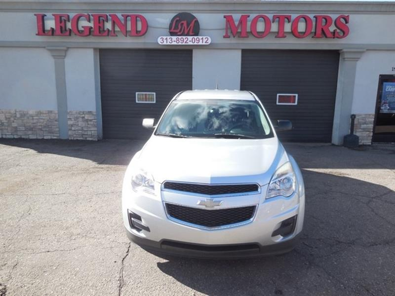 2011 Chevrolet Equinox car for sale in Detroit