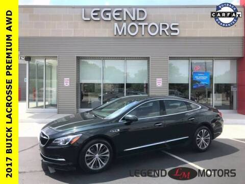2017 Buick LaCrosse for sale at Legend Motors of Detroit - Legend Motors of Waterford in Waterford MI