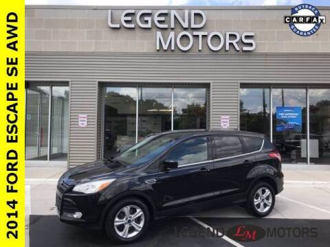 2014 Ford Escape for sale at Legend Motors of Detroit - Legend Motors of Waterford in Waterford MI