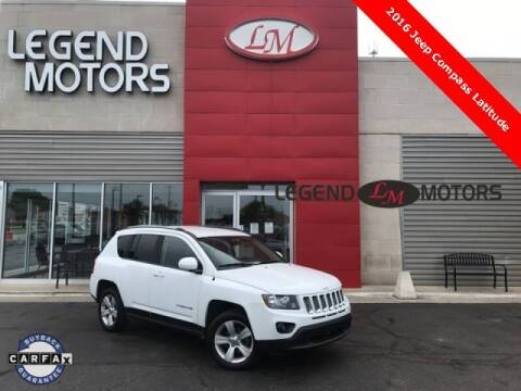 2016 Jeep Compass for sale at Legend Motors of Detroit - Legend Motors of Ferndale in Ferndale MI