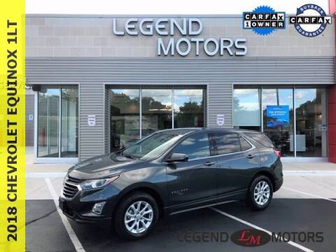 2018 Chevrolet Equinox for sale at Legend Motors of Detroit - Legend Motors of Waterford in Waterford MI