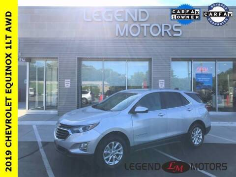 2019 Chevrolet Equinox for sale at Legend Motors of Detroit - Legend Motors of Waterford in Waterford MI