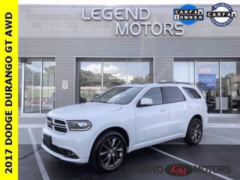 2017 Dodge Durango for sale at Legend Motors of Detroit - Legend Motors of Waterford in Waterford MI