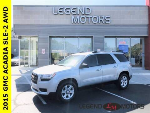 2015 GMC Acadia for sale at Legend Motors of Detroit - Legend Motors of Waterford in Waterford MI