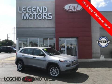 2015 Jeep Cherokee for sale at Legend Motors of Detroit - Legend Motors of Ferndale in Ferndale MI