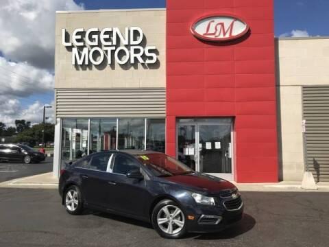 2015 Chevrolet Cruze for sale at Legend Motors of Detroit - Legend Motors of Ferndale in Ferndale MI