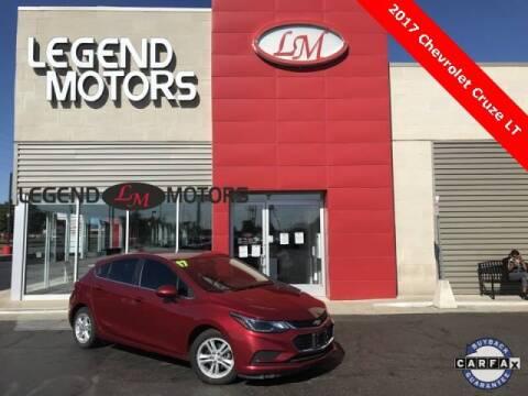 2017 Chevrolet Cruze for sale at Legend Motors of Detroit - Legend Motors of Ferndale in Ferndale MI