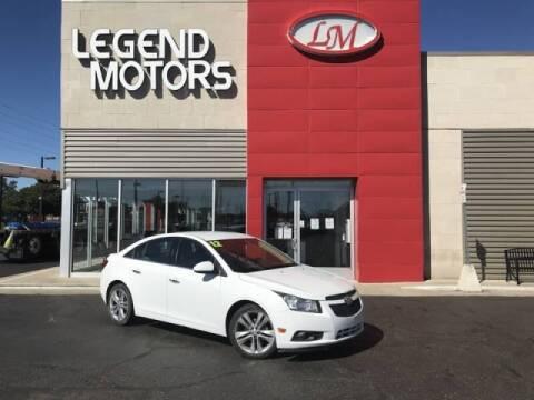 2012 Chevrolet Cruze for sale at Legend Motors of Detroit - Legend Motors of Ferndale in Ferndale MI