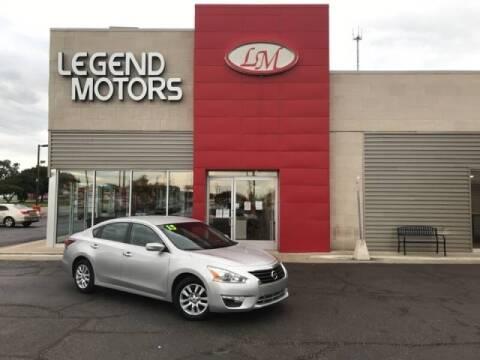 2015 Nissan Altima for sale at Legend Motors of Detroit - Legend Motors of Ferndale in Ferndale MI