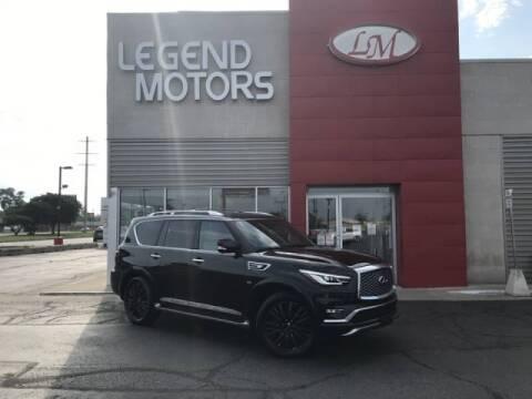 2019 Infiniti QX80 for sale at Legend Motors of Detroit - Legend Motors of Ferndale in Ferndale MI