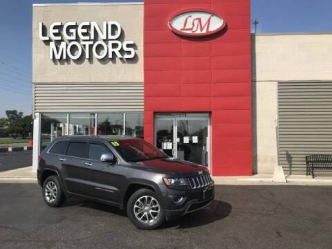2015 Jeep Grand Cherokee for sale at Legend Motors of Detroit - Legend Motors of Ferndale in Ferndale MI