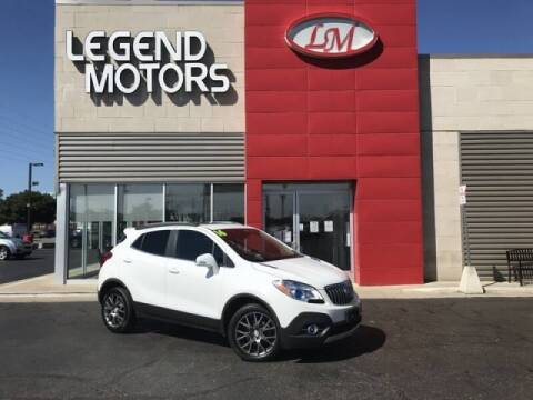 2016 Buick Encore for sale at Legend Motors of Detroit - Legend Motors of Ferndale in Ferndale MI