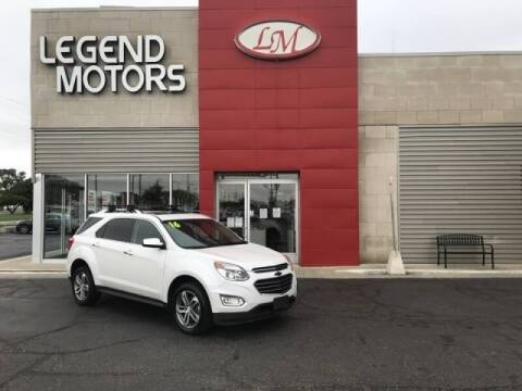 2016 Chevrolet Equinox for sale at Legend Motors of Detroit - Legend Motors of Ferndale in Ferndale MI
