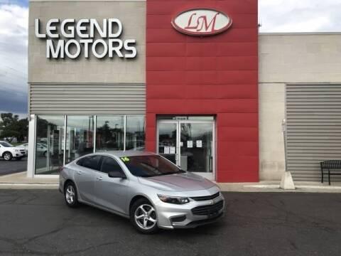 2016 Chevrolet Malibu for sale at Legend Motors of Detroit - Legend Motors of Ferndale in Ferndale MI