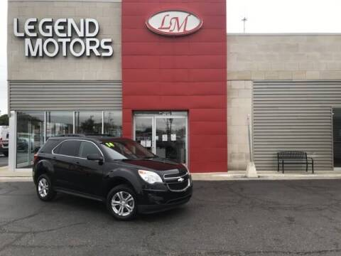 2014 Chevrolet Equinox for sale at Legend Motors of Detroit - Legend Motors of Ferndale in Ferndale MI