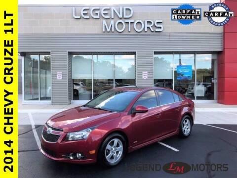 2014 Chevrolet Cruze for sale at Legend Motors of Detroit - Legend Motors of Waterford in Waterford MI