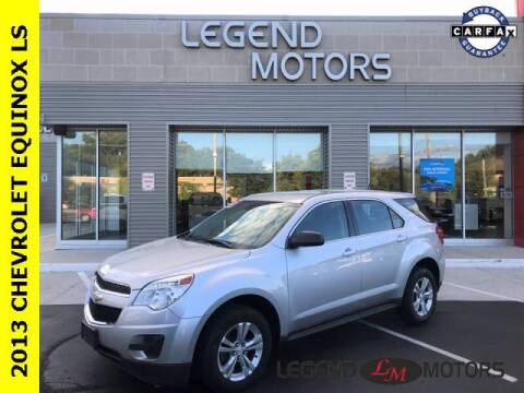 2013 Chevrolet Equinox for sale at Legend Motors of Detroit - Legend Motors of Waterford in Waterford MI