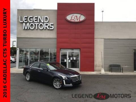 2016 Cadillac CTS for sale at Legend Motors of Detroit - Legend Motors of Ferndale in Ferndale MI