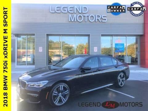 2018 BMW 7 Series for sale at Legend Motors of Detroit - Legend Motors of Waterford in Waterford MI