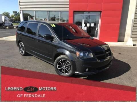 2016 Dodge Grand Caravan for sale at Legend Motors of Detroit - Legend Motors of Ferndale in Ferndale MI