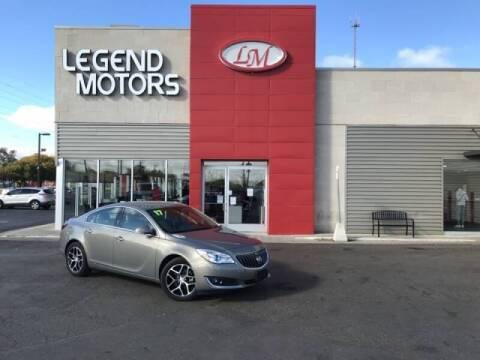 2017 Buick Regal for sale at Legend Motors of Detroit - Legend Motors of Ferndale in Ferndale MI