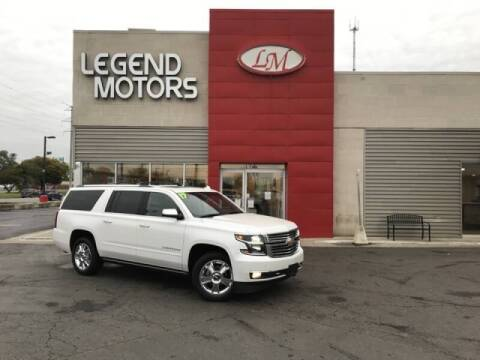 2017 Chevrolet Suburban for sale at Legend Motors of Detroit - Legend Motors of Ferndale in Ferndale MI