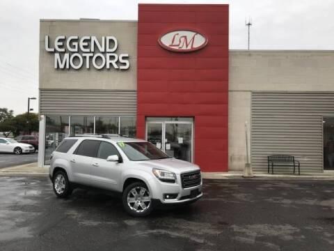 2017 GMC Acadia Limited for sale at Legend Motors of Detroit - Legend Motors of Ferndale in Ferndale MI