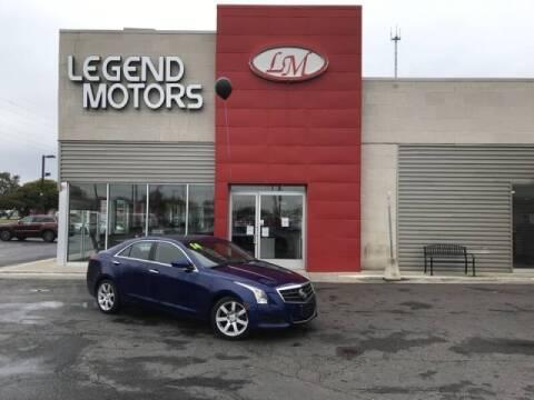 2014 Cadillac ATS for sale at Legend Motors of Detroit - Legend Motors of Ferndale in Ferndale MI