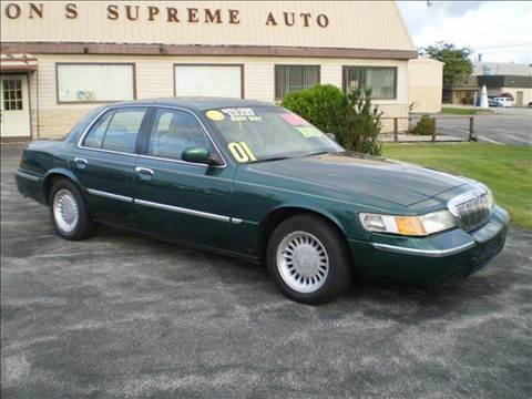 2001 Mercury Grand Marquis for sale in Ludington, MI