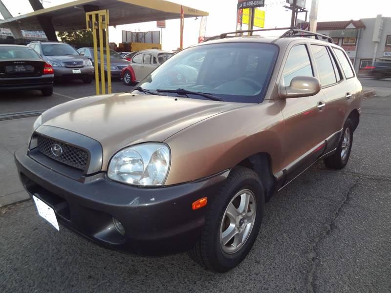 2002 Hyundai Santa Fe GLS 2WD 4dr SUV   North Hollywood CA